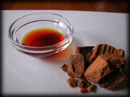Cinchona: bark and tincture