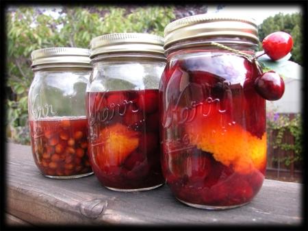 Balaton Cherries and Stones in Spirit